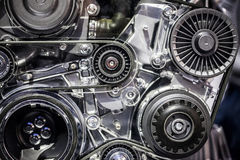 De Machinemotor van de automotor Stock Fotografie