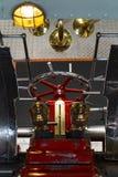 De machineruimte van Loetschberg van de peddelstoomboot stock afbeeldingen