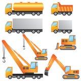 De machines van de bouw. Stock Fotografie