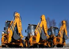 De machines van de bouw Royalty-vrije Stock Foto's