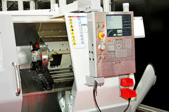 De machines van de draaibank Stock Fotografie