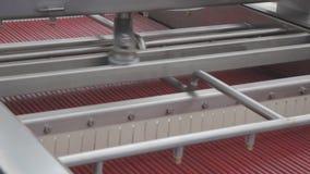 De Machines van de steelverwijdering stock videobeelden