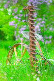 De Machines van het boerenerf Stock Foto