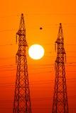 De macht van de energie Stock Fotografie