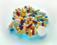 De macht van de pillen. Royalty-vrije Stock Fotografie