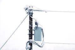 De Macht van de sneeuw Stock Afbeeldingen