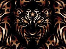 De macht van de tijger! Stock Afbeelding