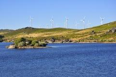 De Macht van de wind Stock Afbeelding