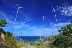 De macht van de wind Stock Foto's
