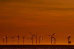 De macht van de wind Royalty-vrije Stock Fotografie