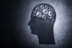 De Macht van hersenen Stock Fotografie