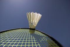 De Macht van het badminton Stock Fotografie