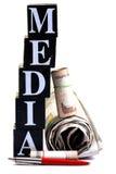 De macht van media royalty-vrije stock afbeelding