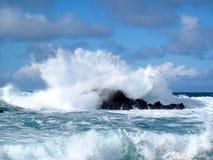 De macht van oceanen stock afbeeldingen