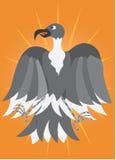 De Machtige adelaar vector illustratie