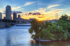 De machtige Mississippi stock fotografie
