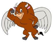 De machtige Vleugels van Buffels royalty-vrije illustratie