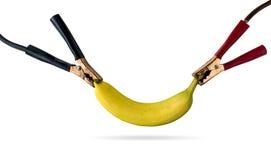De machtsenergie van de fruitkabel Stock Afbeeldingen