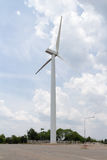 De machtsgenerator van de windturbine Stock Afbeeldingen