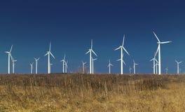 De machtsgenerators van de wind Royalty-vrije Stock Foto