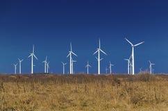 De machtsgenerators van de wind Stock Foto's