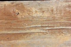 De macro doorstane houten textuur van de korrelplank Stock Foto
