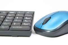 De macro Muis en het toetsenbord van PC Stock Afbeelding