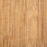 De macro scherpe die raad van de bamboe houten korrel met messentekens, goed in keuken worden gebruikt Stock Fotografie