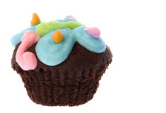 De Macro van de Cake van de kop Royalty-vrije Stock Foto's