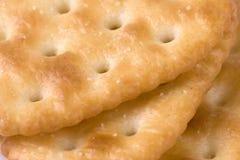 De Macro van de cracker Royalty-vrije Stock Afbeelding