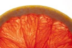 De Macro van de grapefruit Royalty-vrije Stock Afbeeldingen