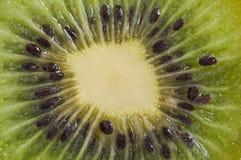 De macro van de kiwi royalty-vrije stock foto