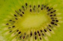 De macro van de kiwi Stock Foto's