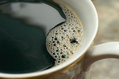 De macro van de koffie Royalty-vrije Stock Foto