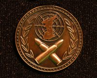 De Macro van de medaille Stock Afbeeldingen