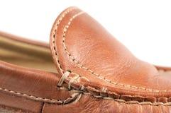 De Macro van de schoen Stock Afbeeldingen
