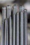 De macro van differen Allen Wrench-grootte royalty-vrije stock afbeelding
