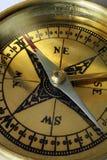 De macro van het kompas Royalty-vrije Stock Afbeelding