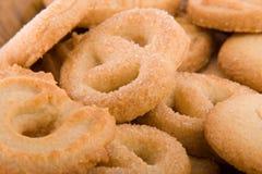 De Macro van koekjes Stock Fotografie