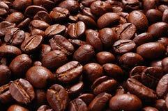 De macroachtergrond van de koffie Stock Afbeeldingen