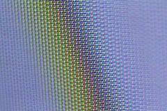 De macrotextuur van het televisiescherm Stock Afbeeldingen