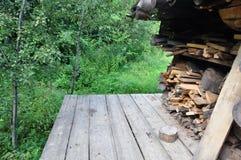 De madeira criativo Foto de Stock