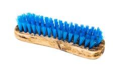 De madeira esfregue a escova foto de stock