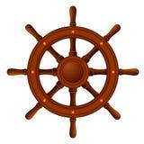 De madeira marinho da roda do navio Imagens de Stock Royalty Free