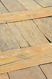 De madeira sujo e marrom textured Fotos de Stock Royalty Free
