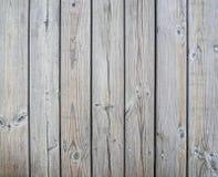 De madeira Unpolished das placas com parafusos Imagens de Stock