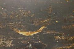 De madeira velho envelhecido rústico das placas de madeira ásperas sujas com pintura preta Imagem de Stock Royalty Free