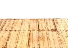 De madeira velho morno da perspectiva da natureza Imagem de Stock Royalty Free