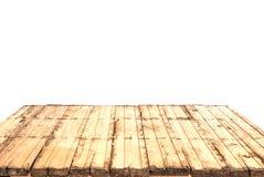 De madeira velho morno da perspectiva da natureza Imagens de Stock