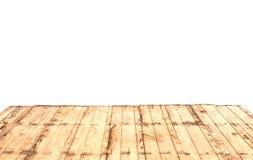 De madeira velho morno da perspectiva da natureza Imagens de Stock Royalty Free